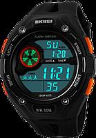 Спортивные часы Skmei 1075. Водонепроницаемые, ударопрочное стекло., фото 1