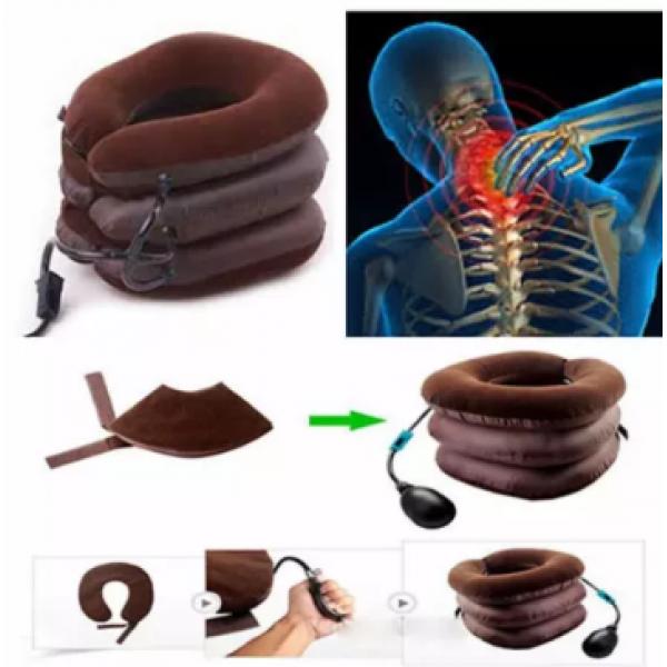 Оригинальный Надувной ортопедический воротник для шеи подушка TING PAI