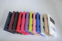 """Чохол-книжка """"Flip-COVER З МАГНІТОМ І З 2 ВІКНОМ"""" IPHONE 4 BLUE"""