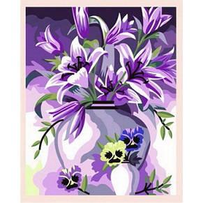 Рисования по номерам Идейка  Элегантные лилии, фото 2
