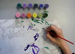 Рисования по номерам Идейка  Элегантные лилии, фото 3