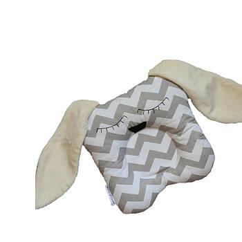 Детская подушка для новорожденных Bunny 25х25 см - 236886