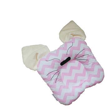 Детская подушка для новорожденных Cat 25х25 см - 236891