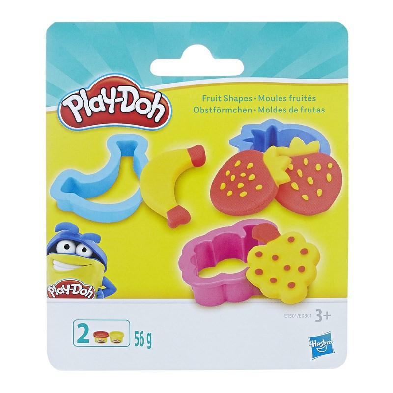 Play-Doh Игровой набор мини Фруктовые формочки 2 баночки 56 г E0801 E1501 fruit snapes