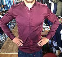 """Рубашка мужская японский воротник, размеры S-2XL (4 цв.) """"A.ROSSI"""" купить недорого от прямого поставщика, фото 1"""