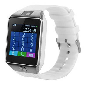 Smart часы DZ09, белые