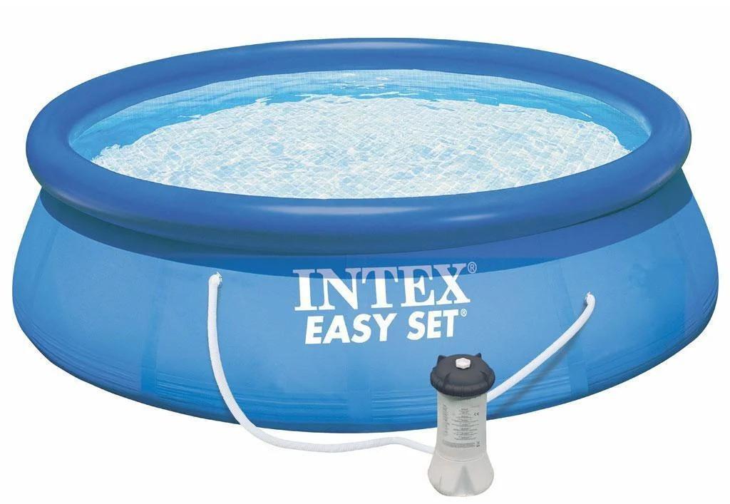 Надувной бассейн Intex 28122 305х76 + насос