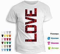 Футболка Love (образец)