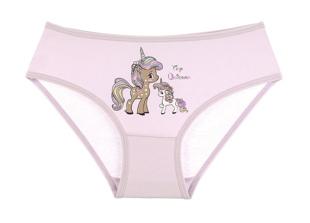 """Трусики дитячі для дівчинки """"Unicorn"""", 4-5 років (ріст 110-116)"""