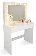 Туалетный столик с зеркалом для макияжа HOLLYWOOD