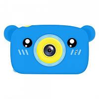 Цифровой фотоаппарат для детей Smart Kids Camera 3, (Blue Bear),  20MP