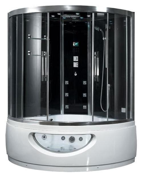 Гидромассажный паровой бокс с ванной EAGO DA333F8, 1500х1500х2200 мм