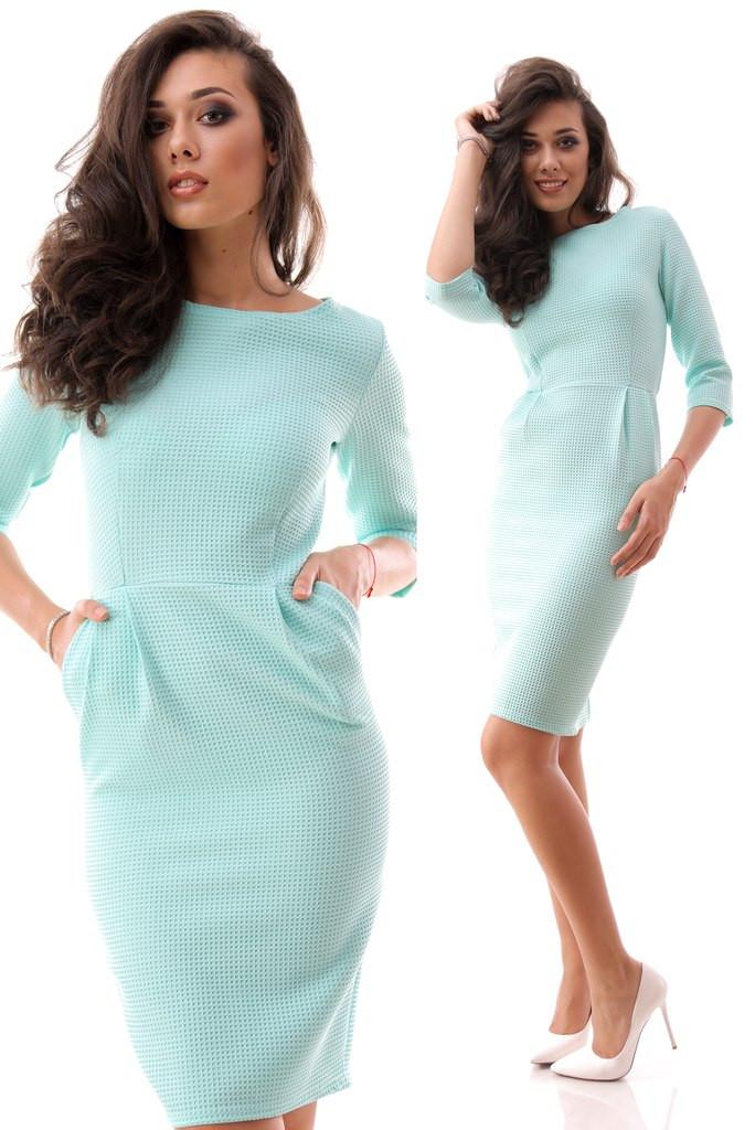 Платье вафельное
