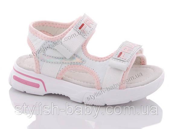 Детская обувь 2020 оптом. Детские босоножки бренда GFB - Канарейка для девочек (рр. с 26 по 31), фото 2