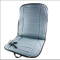 Чехол-накидка на сиденье авто с подогревом от прикуривателя Wellamart Серый - 226277