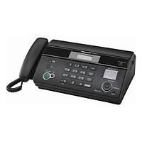 Факс Panasonic KX-FT982UA-B Black (термопапір)