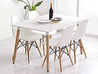 Кухонный стол 120X80cm и 4 стулья AURORA