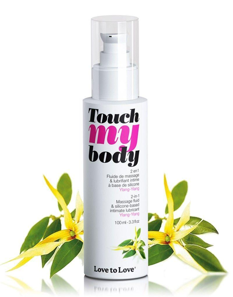 Массажный гель лубрикантт 2-в-1 Love To Love TOUCH MY BODY Ylang-Ylang (100 мл)