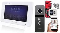Комплект Wi-FI домофона Tantos Rocky 7 - детекция, сенсорный экран