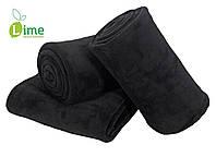 Плед флисовый, Bellis Black 140x200 см