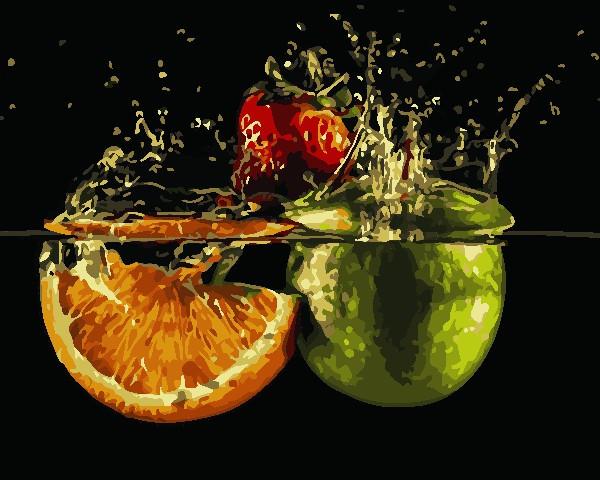 Рисование по номерам Спелые фрукты ArtStory AS0770 40 х 50 см