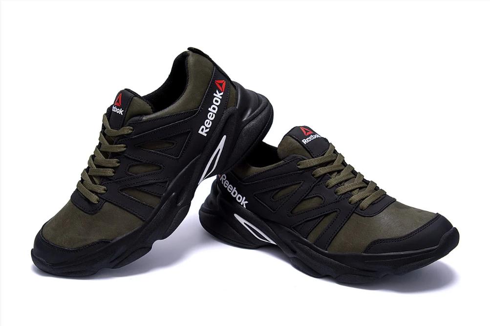 Мужские кожаные кроссовки Reebok Classic реплика