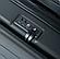 Дорожный Чемодан маленький ABS-пластик black, фото 4