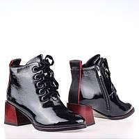 Женские лаковые ботинки G755H-B750AL-6 BLACK LAK весна 2020, фото 1