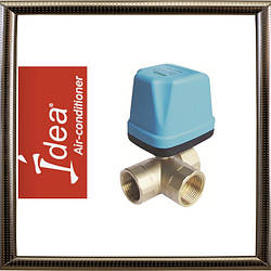 Трех-ходовой клапан IDEA HD-Q20 для фанкойлов