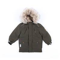 Зимняя куртка парка для мальчика NANO F19M1301 Olive