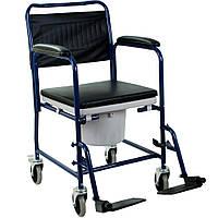 Кресло-каталка с санитарным оснащением OSD-H032B