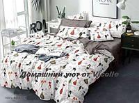 """Комплект постельного белья """"Влюбленные кошки-3"""" GOLD-Люкс Бязь ГОСТ 140г м2."""