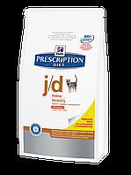 Корм для котов Hills PD Feline j/d 2 кг хиллс при артрозах