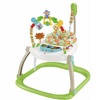 Портативное кресло прыгунки Fisher-Price Джунгли