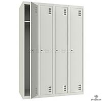 Металлические шкафы для одежды ШМ-4-4-300х1800