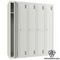 Шкаф для вещей металлический ШМ-5-5-300х1800