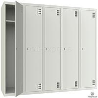 Металлические гардеробный шкафы  ШМ-5-5-400х1800