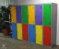 Шкаф металлический гардеробный ШМ-5-10-300х900