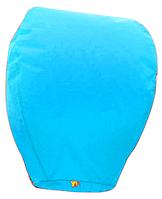 Небесный фонарик купол. Цвет: Синий. Размер: 90см.