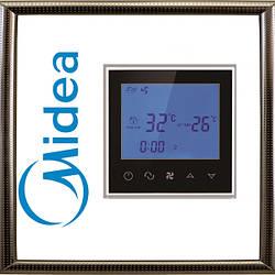 Настенный проводной пульт-термостат MIDEA TP201AL