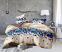 Семейный комплект постельного белья Сатин Люкс