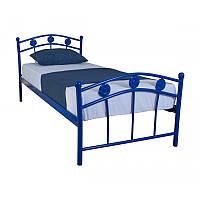 Детская односпальная кровать Eagle  SMART 900х2000 blue (E2004)