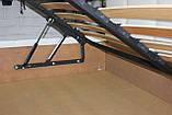 Угловая кровать Лион в мягкой обивке, фото 7