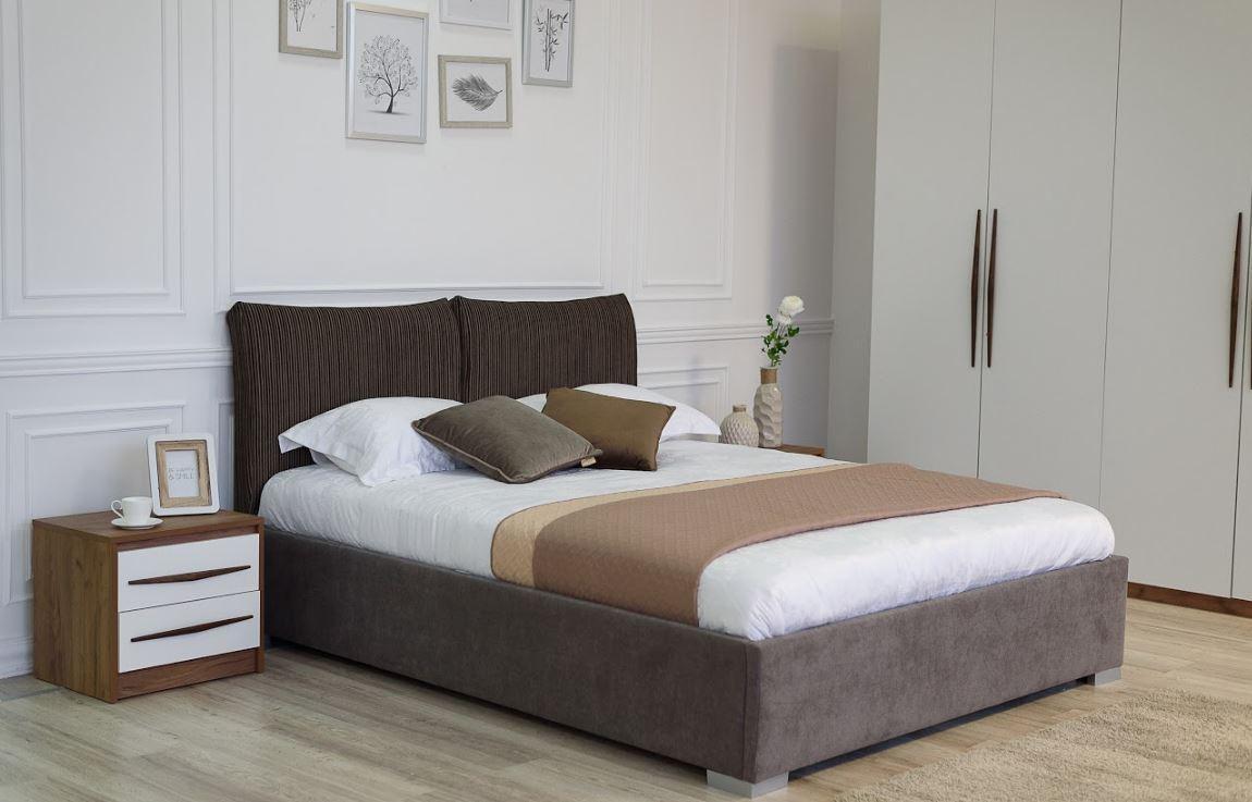 Кровать двуспальная Меланж (Embawood) MW1800 с подъемным механизмом