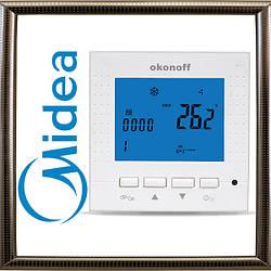 Настенный проводной пульт-термостат MIDEA Okonoff S400L