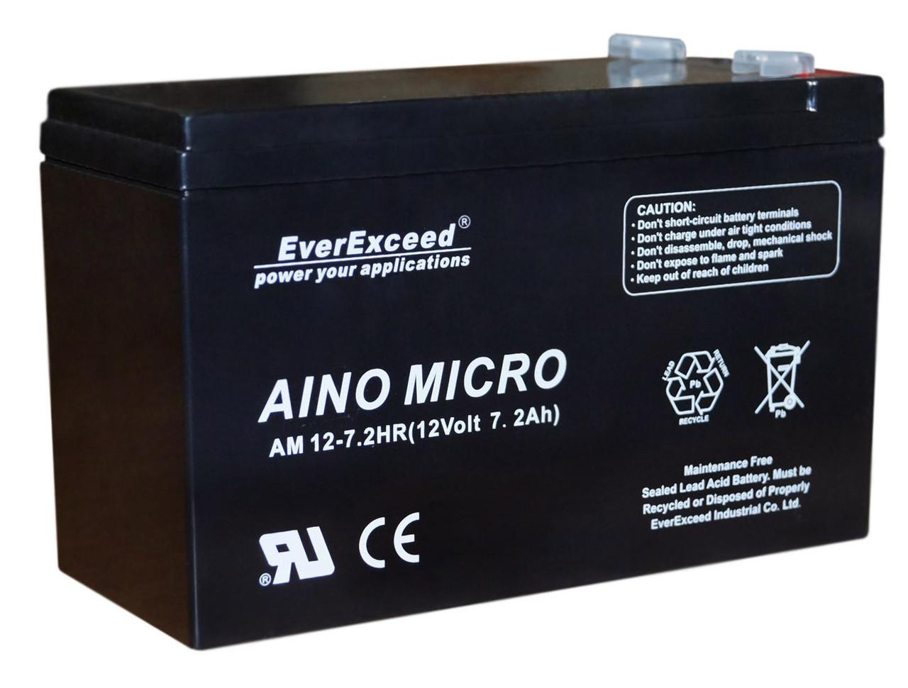 Акумулятор EverExceed AM 12-7.2hr