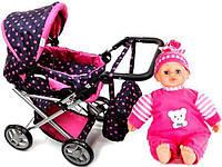 Коляска для куклы,игрушечная коляска DORRIS принадлежности!