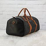 Дорожная сумка tube 2 чёрная из натуральной кожи crazy horse, фото 4
