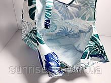 Экосумка с карманом складывающаяся расцветки микс, фото 3