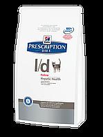 Корм для котов Hills PD Feline L/D 1,5 кг болезни печени, липидоз печени, печеночная энцефалопатия